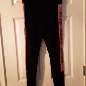 VS Pink Yogas Small Begonia EUC